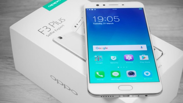 OPPO F3 Plus Unboxing via Youtube