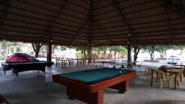 Recreation Area at Hagnaya Beach Resort