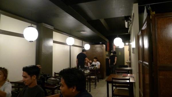 Simple Interiors at Nabe-ya Shabu-Shabu and Hotpot