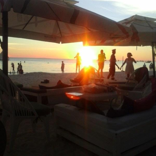 Sunset beyond Kasbah