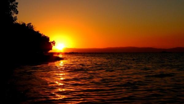 Sunsets at Hidden Beach in Aloguinsan
