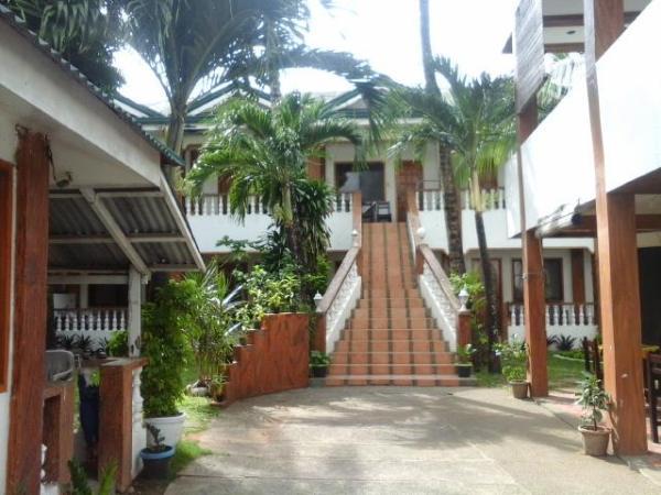 The welcoming foyer of La Plage de Boracay