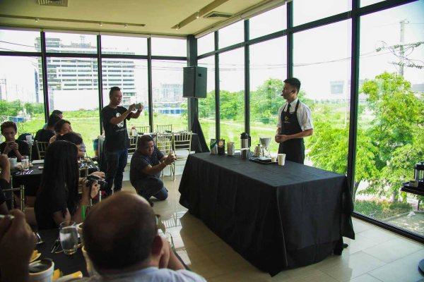2017 Starbucks Philippines Coffee Ambassador Miguel Bautista