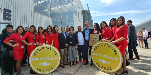 Air Asia Team at the International Paris AirShow