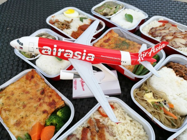 AirAsia launches new Asian Santan Menu