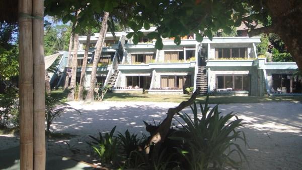 BTR's beach accommodations