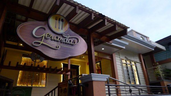 Dinner at Gerarda's Family Restaurant in Bohol