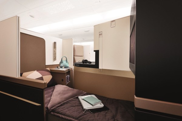 Etihad Airways A380 Business Studio