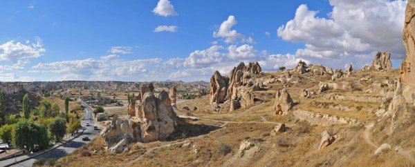 Hot-Air Ballooning in Cappadocia, Turkey