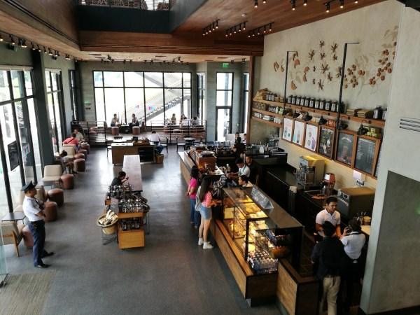 Ground Floor of Starbucks Macapagal