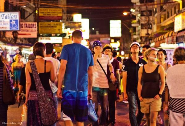 Khao San Road - Party in Bangkok
