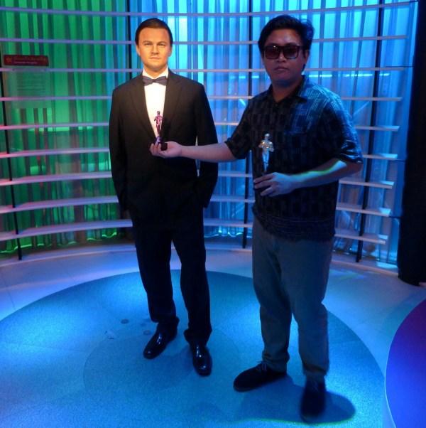 Leonardo DiCaprio at Madame Tussaud's Bangkok