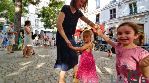 Locals enjoying Fete de la Musique