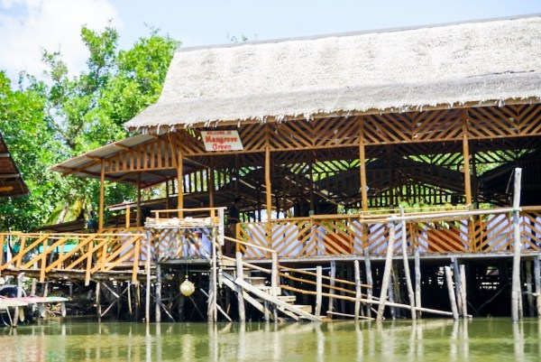 Mangrove floating Restaurant