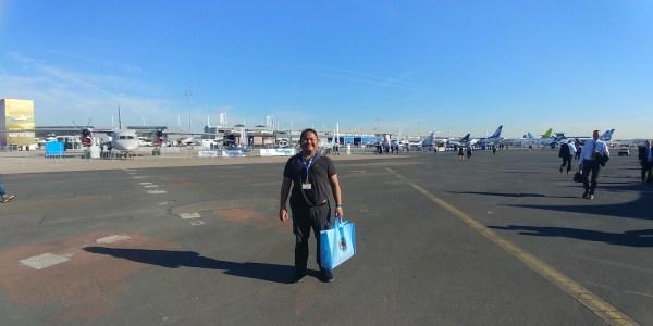 Melo at the Paris Air Show