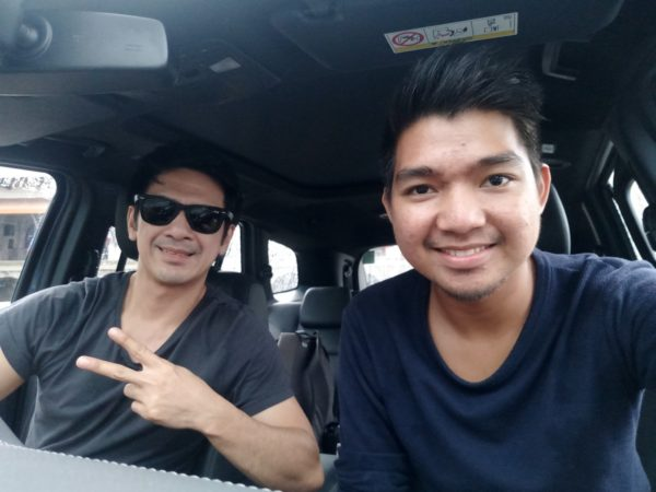 Michael and I drive the new Ford Everest - Taal Heritage Tour with the Ford Everest