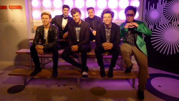 One Direction at Madame Tussaud's Bangkok