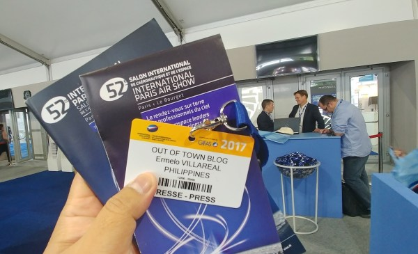 Out of Town Blog at the Paris Air Show 2017