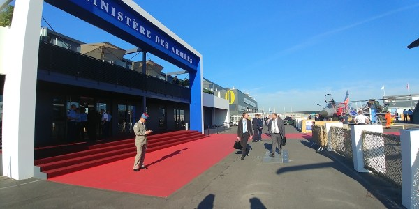 Paris–Le Bourget Airport in north Paris, France