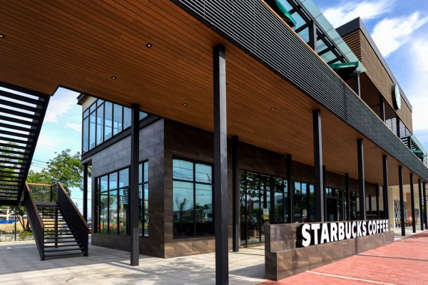Starbucks Macapagal - The Philippines Biggest