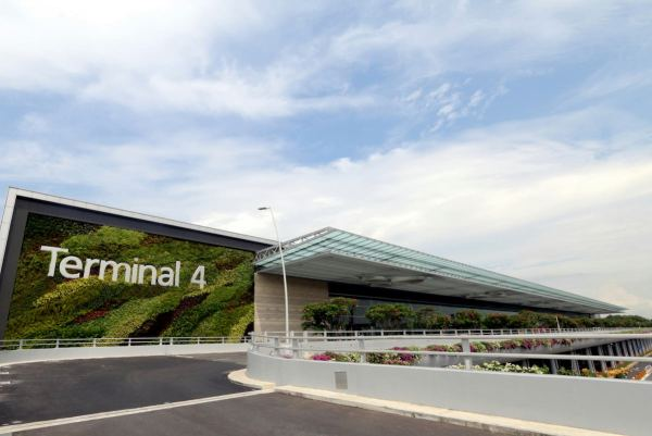 T4 facade - 5 Things I love about Changi Airport's Terminal 4