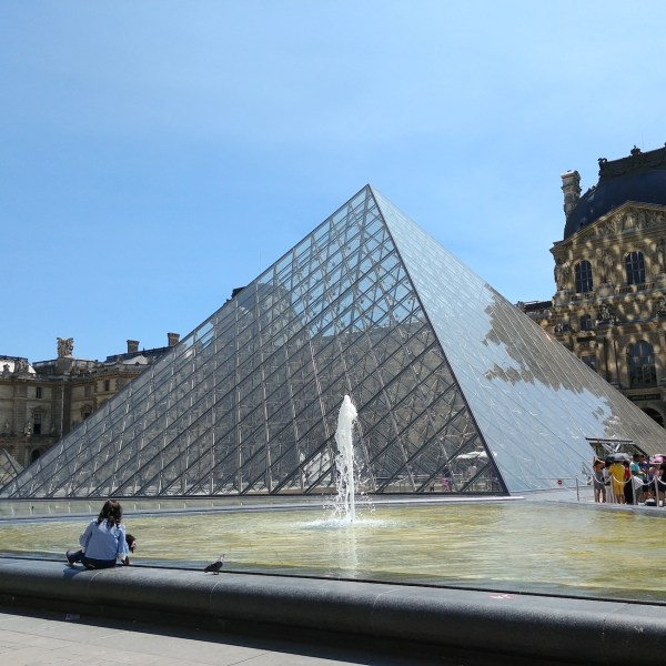 The Glass Pyramid of Paris