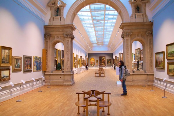 Thousands of Art Pieces on display inside The Louvre Museum