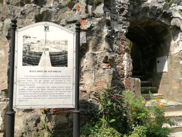 Baluarte de San Diego Historical Marker