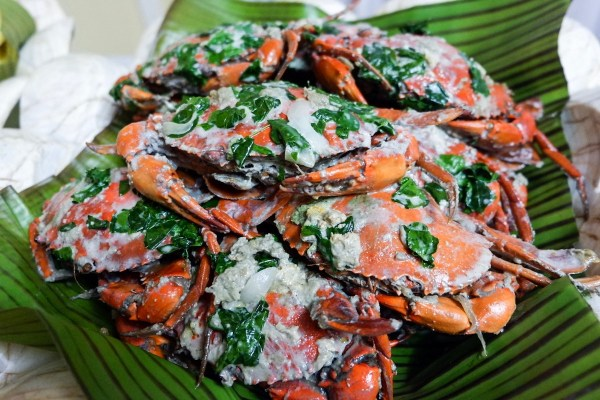 Crabs in Coconut Milk