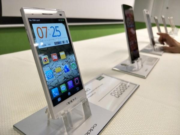 Evolution of OPPO Smartphones