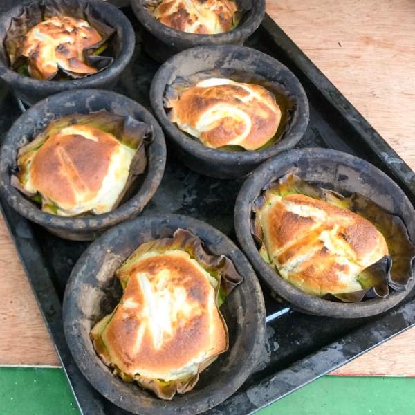 Fresh, oven baked bibingka available on the spot