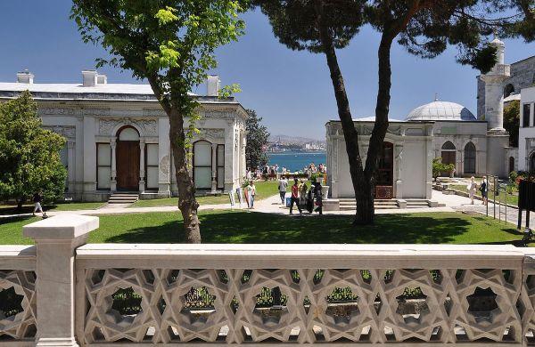 Grand Kiosk of Topkapi Palace in Istanbul