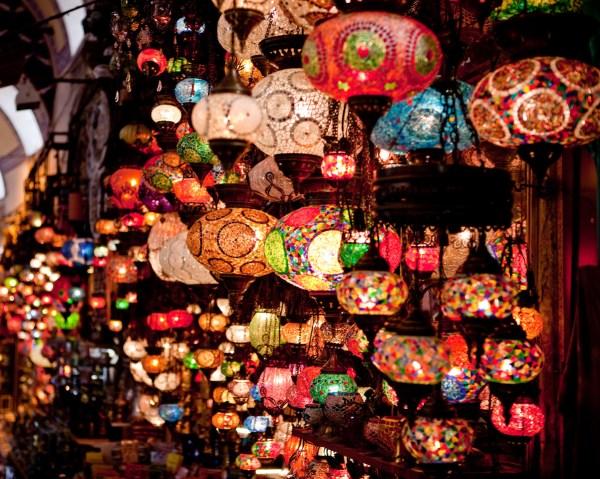 Lanterns in the Grand Bazaar