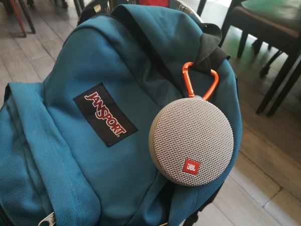 JBL Clip - my newest travel gadget