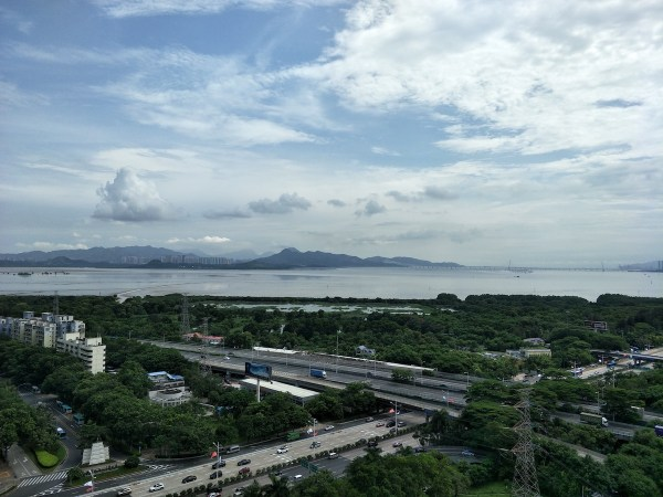 Scenic View from OPPO Headquarters in Shenzhen China