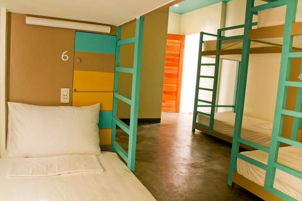 8-Bed Mixed Dorm. Photo by Second Wind Hostel