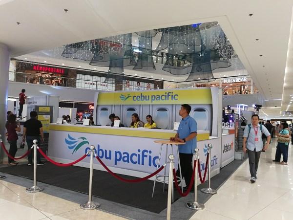 Cebu Pacific Booth