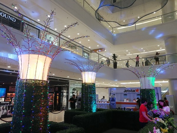 Gardens by the Bay Replica in SM Mega Fashion Hall