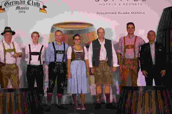 German Club Oktoberfest 2017 launch at Sofitel Philippine Plaza