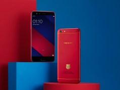 OPPO F3 FC Barcelona Limited Edition Smartphone
