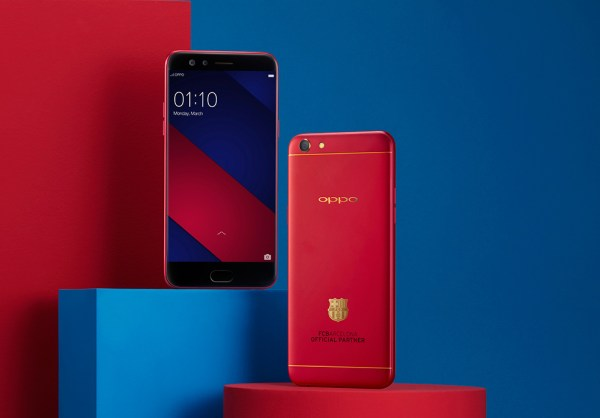 OPPO F3 FC Barcelona Limited Edition Smartphone