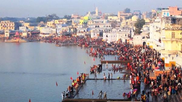Pushkar Lake Visit in India