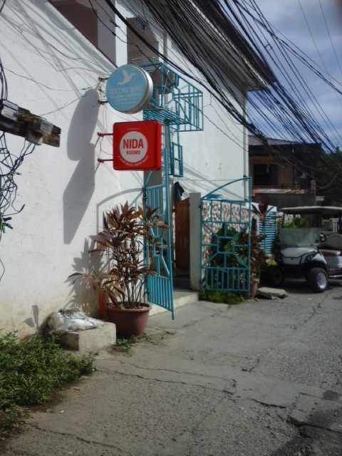 The facade of Second Wind Hostel