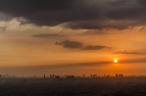 View of Manila Sunset from Antipolo