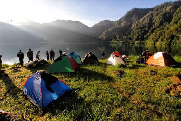 Camping in Lake Holon photo via Lake Holon FB Page