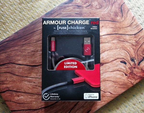 Fuse Chicken Red Armour iPhone Lightning Cable Review