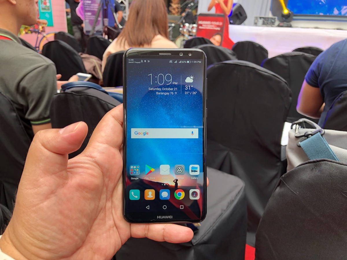 Travel Gadget: Unboxing Huawei Nova 2i - Out of Town Blog