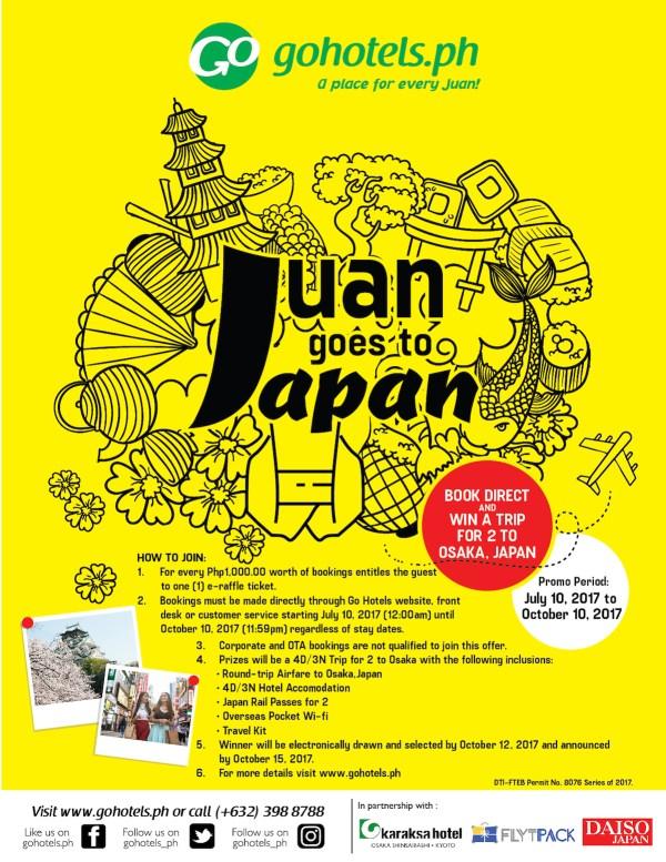 Juan Goes to Japan promo