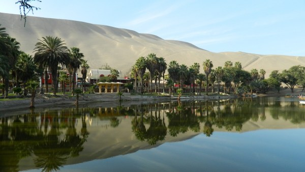Oasis Of Huacachina in Ica Peru