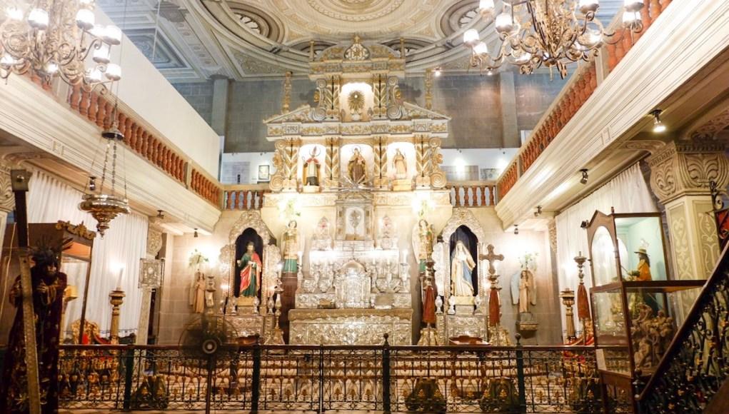 Original Retablo from Quiapo Church